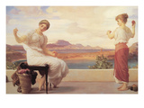 Winding the Skein Prints by Frederick Leighton