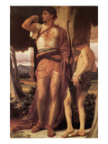 Jonathan's Token to David Prints by Frederick Leighton