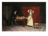 Les Appret; Appurtenances Kunstdrucke von Jean Georges Vibert