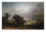 Lake Lucerne Posters by Albert Bierstadt