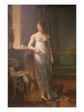 Madame Charles-Maurice De Talleyrand-Périgord, Princesse De Bénévent Print by Francois Gerard
