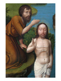 Christ Baptized in the Jordan River Prints by Joachim Patinir
