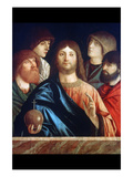Christ with Four Apostles Posters by Vittore Carpaccio