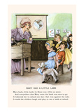 Mary Had a Little Lamb Posters by  Bird &amp; Haumann