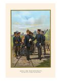 Relish Heavy Artillery at the Gun - 8th Regiment Prints by G. Arnold