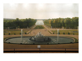 Palace and Gardens of Versailles Poster von John Vanderlyn
