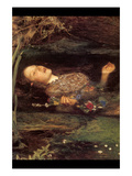 Ophelia Poster by John Everett Millais