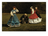 Croquet Scene Prints by Winslow Homer