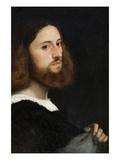 Portrait of a Man Prints by  Titian (Tiziano Vecelli)