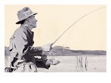 Fly Fishing Prints by Ken Cowhey