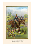 "West Prussian Uhlans ""Emperor Alexander"" of Russia - 1st Regiment Prints by G. Arnold"