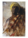 Guard of a Harem Print by Frank Duveneck
