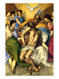 By the Grace of God Print by  El Greco