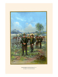 Royal Saxon Field Artillery - 12th Regiment Prints by G. Arnold
