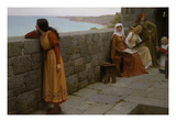The Hostage Prints by Edmund Blair Leighton