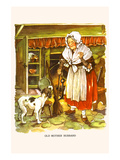 Old Mother Hubbard Prints by  Bird & Haumann