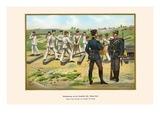 Railway Troops Drilling on the Templehof Grounds Prints by G. Arnold