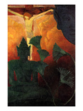 Christ and Buddha Kunstdruck von Paul Ranson