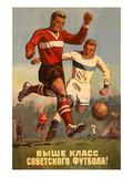 Soviet Football Prints
