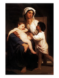 Asleep at Last Prints by William Adolphe Bouguereau