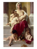 Charity Print by William Adolphe Bouguereau