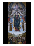 Assumption of the Virgin Prints by  Bergognone