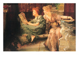 Comparisons Poster av Sir Lawrence Alma-Tadema