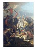 Battle of Vercellae Prints by Giovanni Domenico Tiepolo