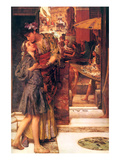 Parting Kiss Prints by Sir Lawrence Alma-Tadema