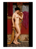 In the Tepidarium Psters por John William Godward