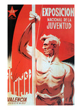 National Youth Exhibition, Valencia 1937 Posters by  JSU