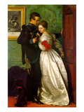 The Black Brunswicker Kunstdrucke von John Everett Millais