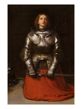 Joanna d'Arc Plakaty autor John Everett Millais