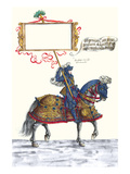 German Knights in Horseback in Procession Prints by H. Burkmair