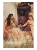 Strigils and Sponges Premium Giclee Print by Sir Lawrence Alma-Tadema