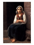 Yvonette Art by William Adolphe Bouguereau
