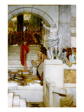 After the Audience Posters by Sir Lawrence Alma-Tadema