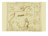 Monoceros Canis Major and Minor Navis Lepus Prints by Sir John Flamsteed