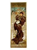 Loranzaccio -Theatre Renaissance Posters by Alphonse Mucha