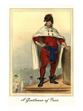 A Gentleman of Paris Prints by L. Massard