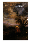 Christ in the Garden of Olives Print by Gustave Moreau