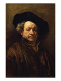 Self Portrait Posters by  Rembrandt van Rijn
