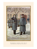 "Colonel of the 25th Infantry Regiment ""Von Lutzow"" - Rhenish - Hohenzollern Overcoat Prints by G. Arnold"