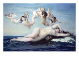 Birth of Venus Posters by Alexandre Cabanel