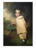 William Scott-Elliot of Arkelton (1811–1901) Affiches par Sir Henry Raeburn