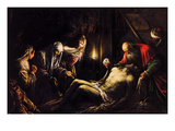 Mourning for Christ Prints by Jacopo Bassano