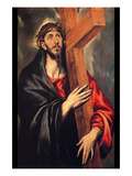 Christ Carrying the Cross Posters by  El Greco