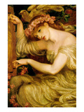 A Sea Spell Prints by Dante Gabriel Rossetti