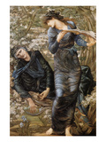 The Beguiling of Merlin Poster by Sir Edward Coley Burne-Jones