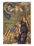 Sponsa De Libano Art by Sir Edward Coley Burne-Jones